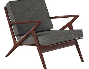 Z Chair Lounger 3D model