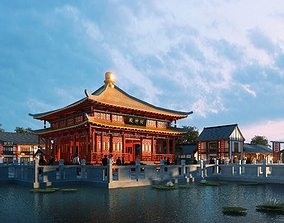 The Ancient Chinese Temples 011 3D