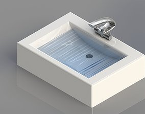 3D print model Sink water crane