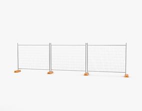 3D Construction Fence