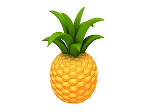 3D asset Pineapple