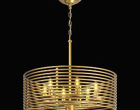 3D 728063 Zeta Lightstar hanging chandelier