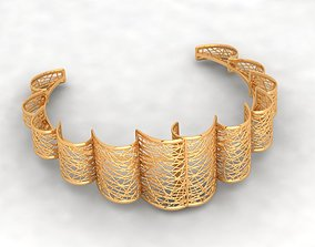 3D print model Stair FX Golden bracelet