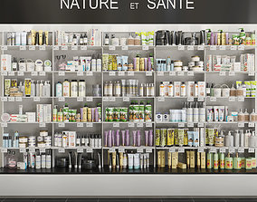 Large set of cosmetics Showcase 6 3D