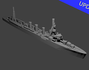 Japanese Kuma Class Cruiser 3D printable model
