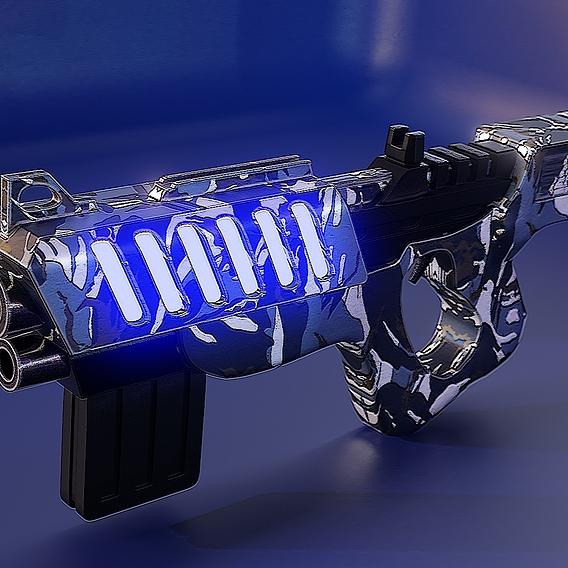Scifi Pistol
