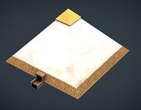 3D model realtime Egyptian Pyramid