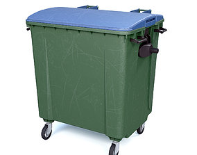 litter container 3D