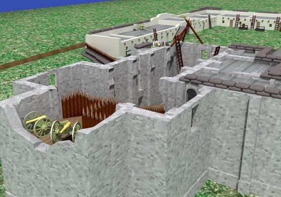 Alamo Battlefield