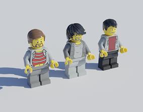 Lego minifigures 3D driver