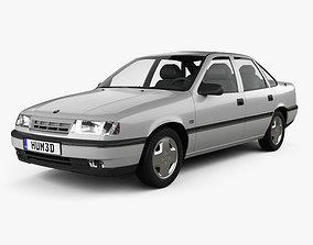 Opel Vectra sedan 1988 3D model