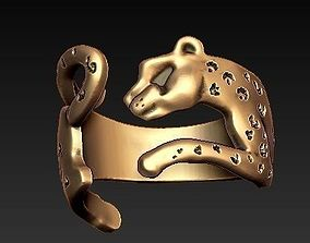 jaguar ring boho 3D printable model