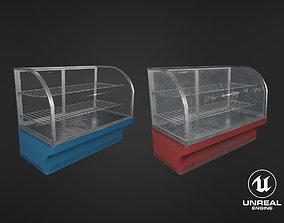 3D asset Clean and Dirt Food Display