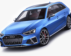3D model Audi S4 Avant 2020