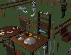 3D model Generic Game Kit