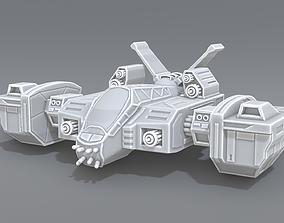 3D printable model spaceship science Spaceship