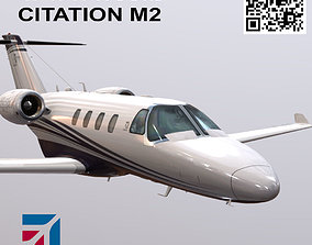 3D model Cessna Citation M2