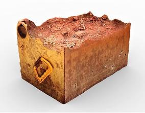 3D asset Rusty Rubble