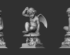 Baby Wings Sculpture 3D print model