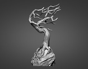 3D printable model Tree - pedestal for characters 01 - 05