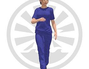 3D asset Female Character 0002 - ND1