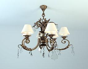savoy chandelier 2-1601-6-21 3D