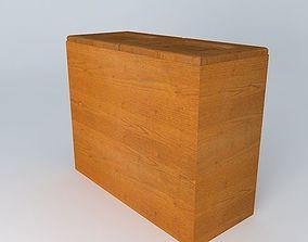 brw black 3D Kitchen Red Fair Cabinet
