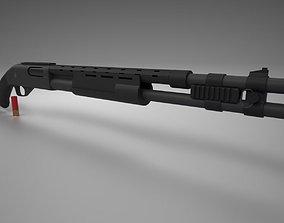 3D model Remington 870 Tactical
