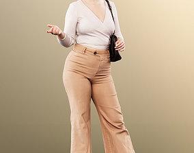 3D model 11611 Marilyn - Casual Standing Woman Talking 1