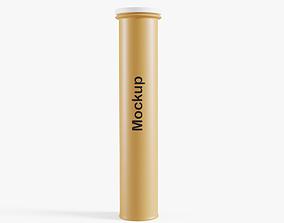 Tablet Tube 3D model