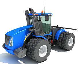 New Holland Agricultural Tractor 3D
