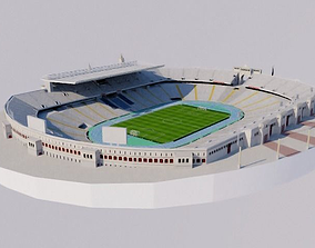 3D asset Estadi Olimpic Lluis Companys -