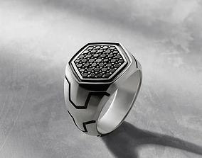David Yurman Man Ring 3D printable model