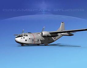 Fairchild C-123B Provider USAF 1 3D model