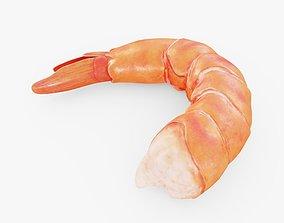 Shrimp 3D model