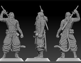 3D print model trunks Samurai