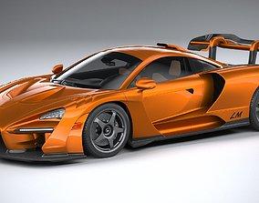 McLaren Senna LM 2021 3D