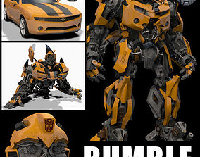 animated max Bumblebee Forever - 3d animated model