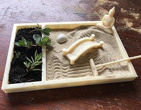 3D print model Zen Garden