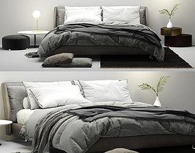 Bed Spencer Minotti 3D model