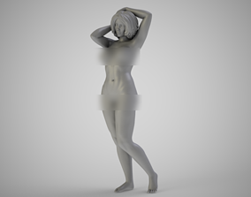 Happy Mature 3D print model