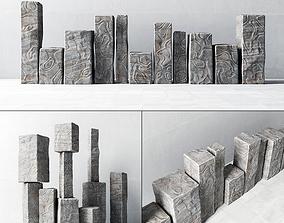 Stone pattern 3D model