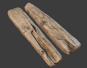 Wooden Plank 3D model