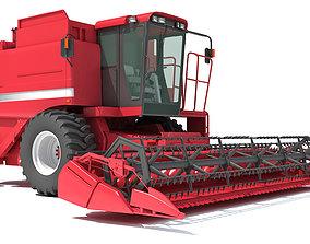 Combine Harvester 3D Models