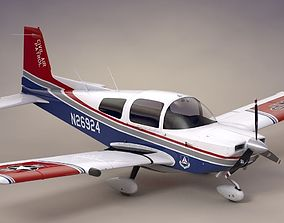 Civil Air Patrol Grumman Cheetah 3D asset realtime
