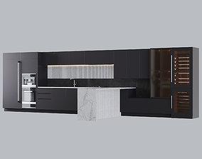 3D Kitchen Modern - One