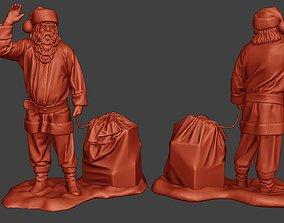 Santa Claus Print P1 3D printable model