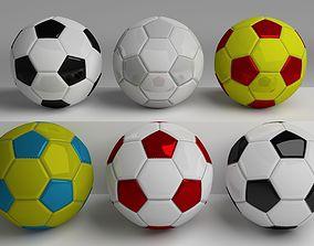 Football Pack 3D asset