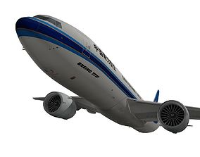 Boeing 777-200F China Southern Cargo 3D model
