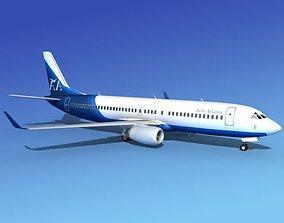 Boeing 737-800 Aero Atlantic 3D model